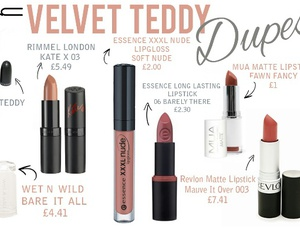 dupe, lipstick, and mac image