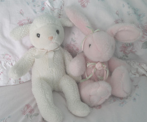 white, cute, and pink image