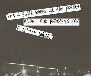 music, concert, and quotes image