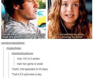 tumblr, funny, and tv show image