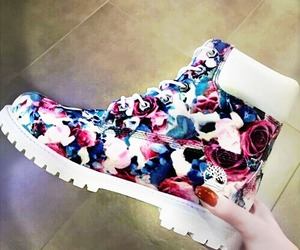 flowers, nature, and shoes image