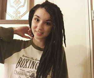 dreadlocks, dreads, and septum image