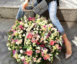 flowers and Valentino image