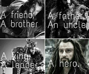 hero, king, and middle earth image
