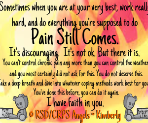 chronic pain, rsd, and invisible illness image