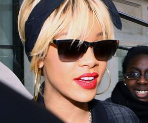 rihanna, blonde, and lips image