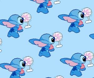 background, blue, and disney image