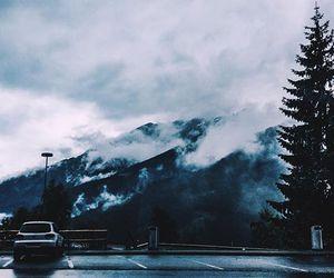 fog, hills, and switzerland image