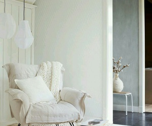armchair, decor, and white image