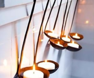 bright, white, and candle image