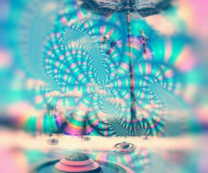 art, larry carlson, and psychedelique image