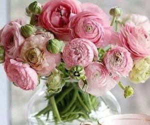 flowers, ranunculus, and rustic image