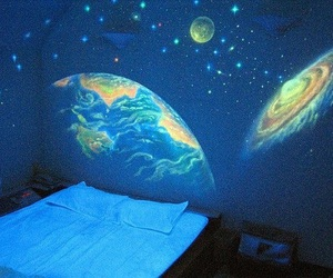 space, room, and galaxy image