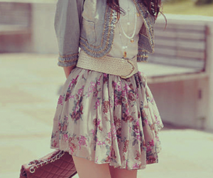 dress and pastel image