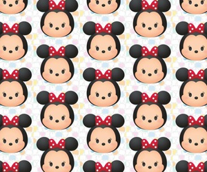 background, iphone, and minnie image