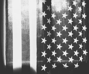 america, b&w, and life image