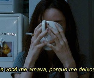 sozinha, triste, and amor image