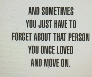 love, forget, and move on image
