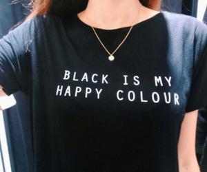black, happy, and grunge image
