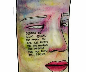 cry, desamor, and frases image