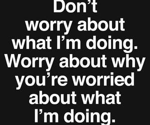 quote and worry image