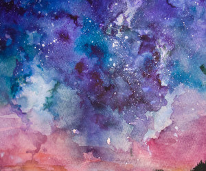 art, colorful, and galaxy image