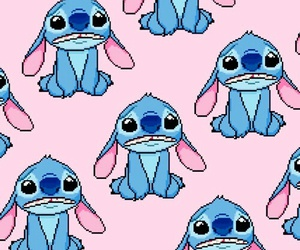 wallpaper, stitch, and background image
