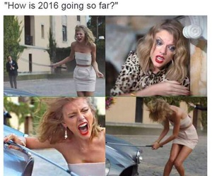 Taylor Swift, 2016, and funny image