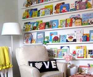 kids room and reading area image