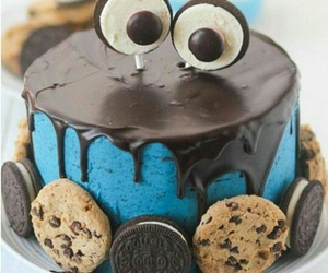 blue, Cookies, and oreo image