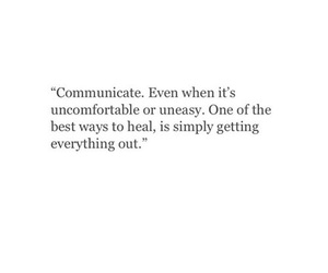 communicate, heal, and motivation image