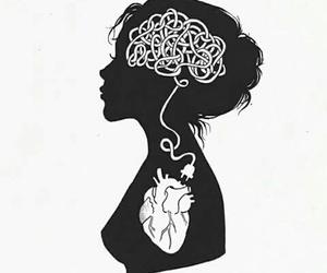 heart, brain, and art image