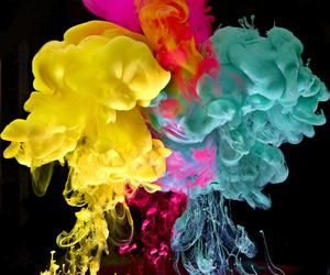 colors, smoke, and color image