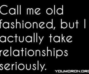 Relationship, quote, and old fashioned image