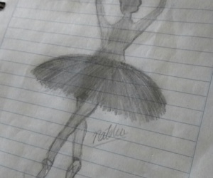 ballet, draws, and original image