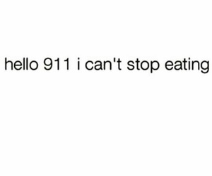 funny, 911, and eating image