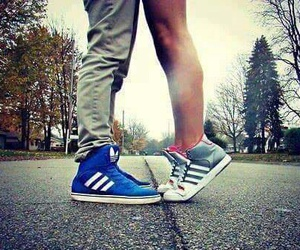 love, adidas, and boy image