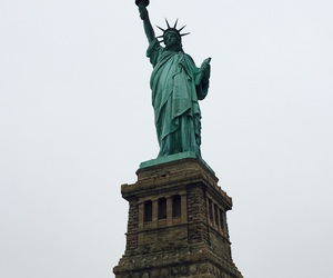 liberty, nyc, and picture image