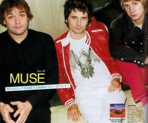 muse and chris wolstenholme image