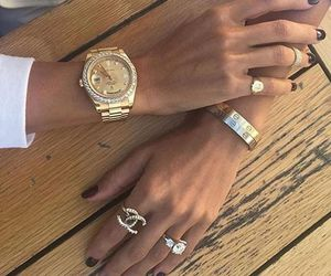 cartier, chanel, and diamond image