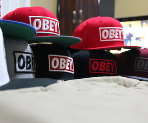 obey and hat image