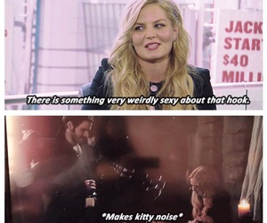 funny, hook, and once upon a time image