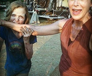 the walking dead, madison lintz, and carol peletier image
