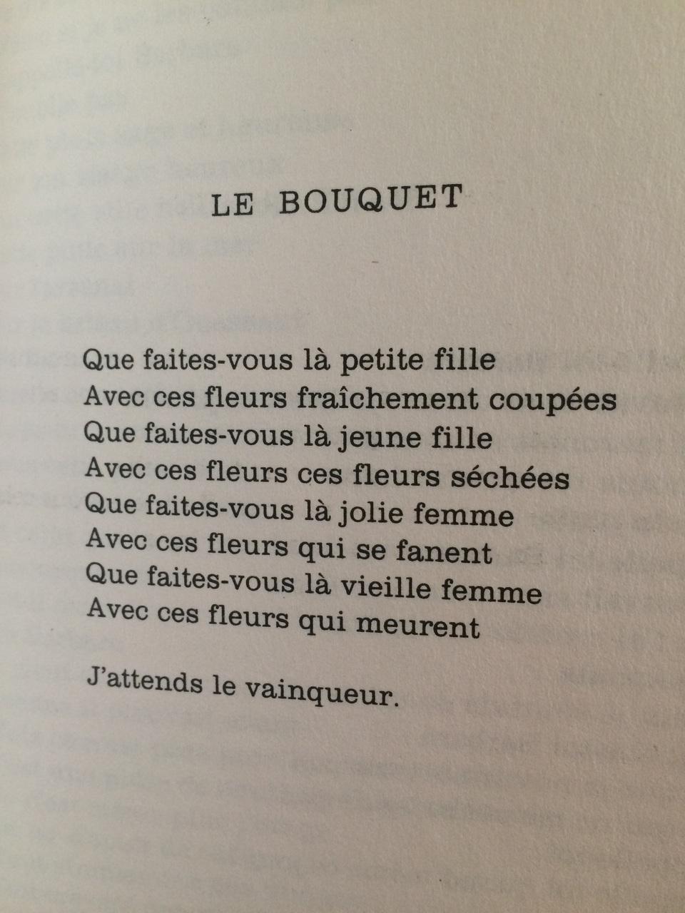 Extrait Du Recueil De Poèmes Paroles De Jacques Prévert