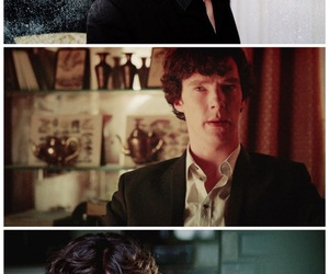 sherlock, benedict cumberbatch, and cumberbitches image