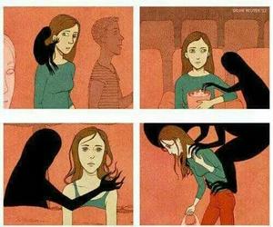 mas, tristeza, and vida image