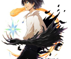 howl's moving castle, anime, and Howl image