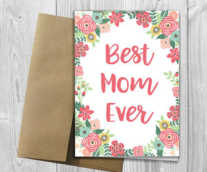 cards, etsy, and greeting card image