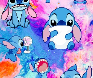 background, stitch, and wallpaper image
