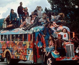 hippie, hippies, and peace image